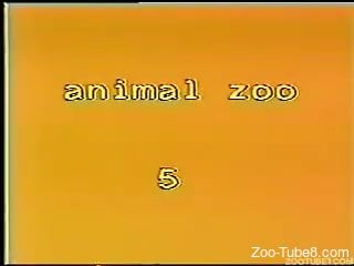 Vintage zoo cam sex with women involved in dirty XXX